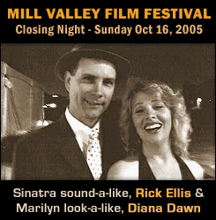 Rick Ellis Sings Sinatra at Mill Valley Film Festival